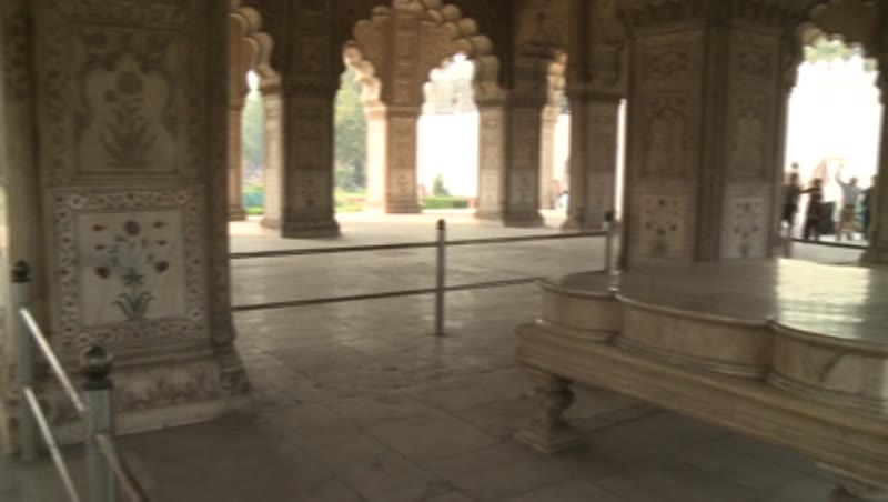 Interior, Diwan-e-Khas, Red Fort, Delhi 3