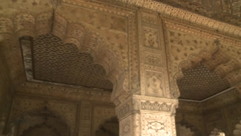 Interior, Diwan-e-Khas, Red Fort, Delhi 2