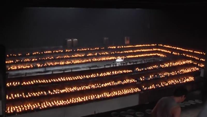 Kora fire, Jokhang Temple, Lhasa, Tibet