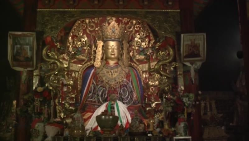 Main Buddha Image, Samye Monastery, Tibet