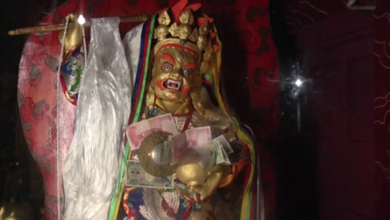 Image of a Protector, Ramoche Temple, Lhasa, Tibet
