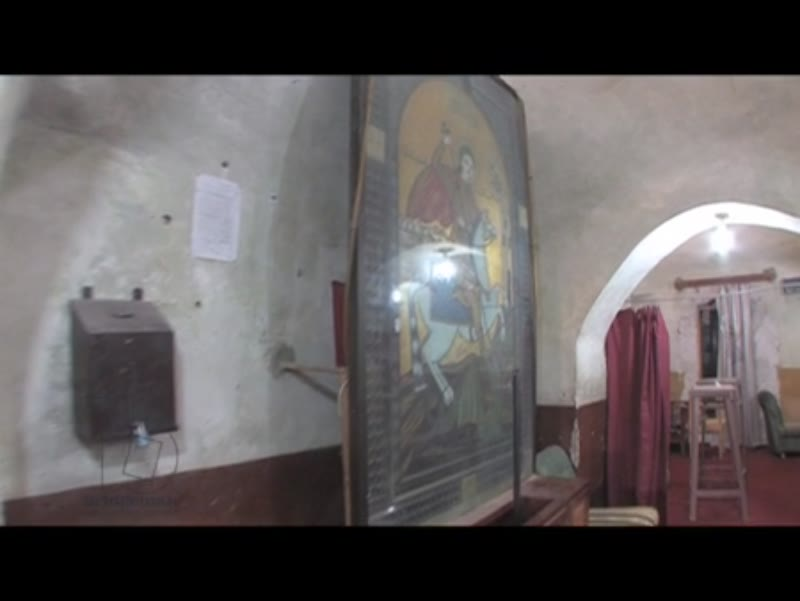 Monastry, Luxor, Egypt, Interior