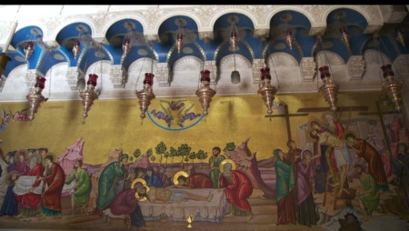 Holy Sepulcher, Mural 1