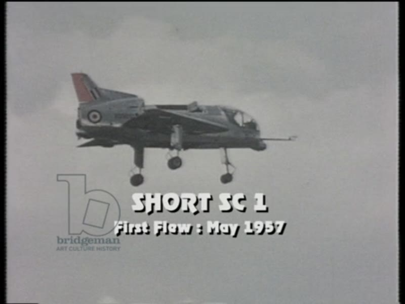 Blackburn Buccaneer, Fairey Delta 1, Fairey Delta 2, Short SC1 and the Harrier are all seen in action at airshow