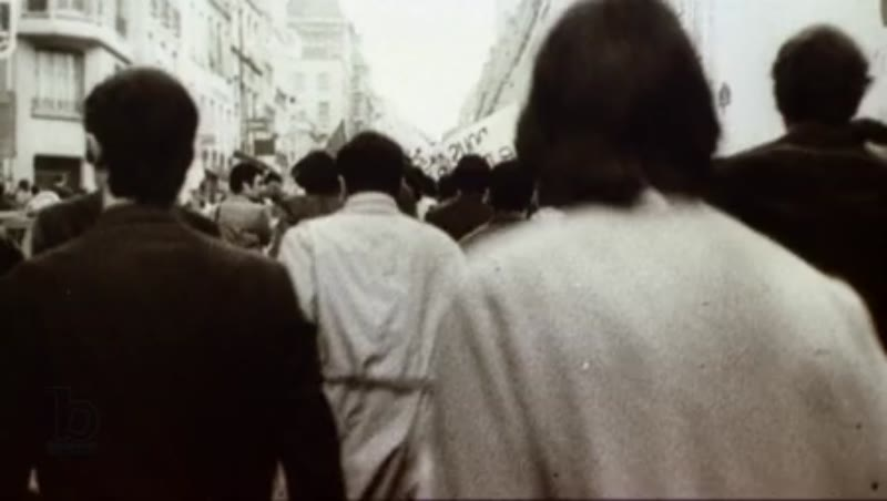 Protest parade in France, c.1960s