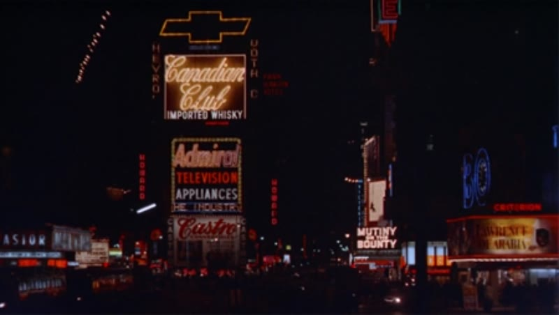 Broadway, night, c.1970s