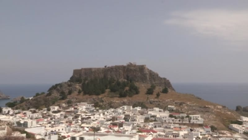 Lindos, Acropolis and Modern City