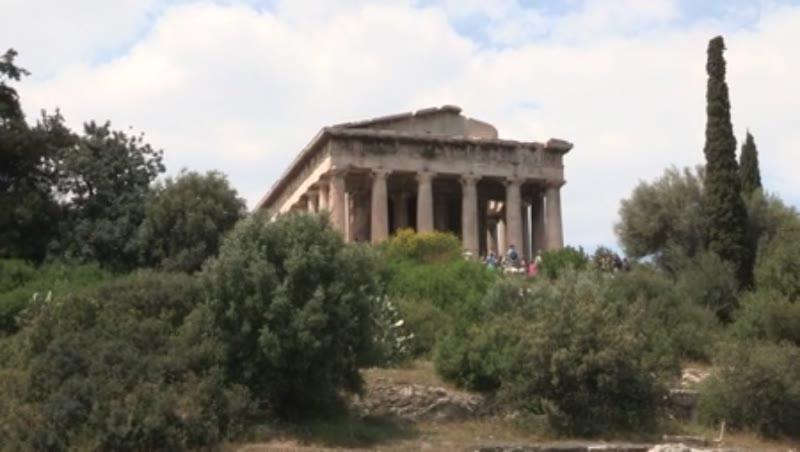 Greek Agora, Temple of Hephaistos/ Theseion