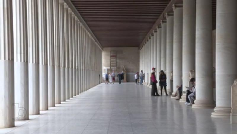Greek Agora, Stoa of Attalus II
