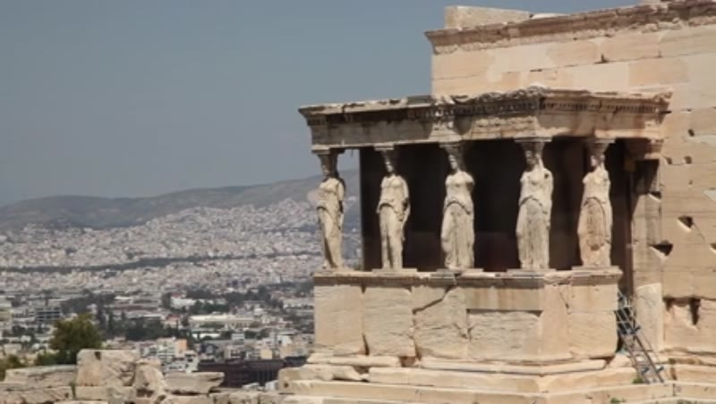Acropolis, Erechtheion, Caryatid Porch