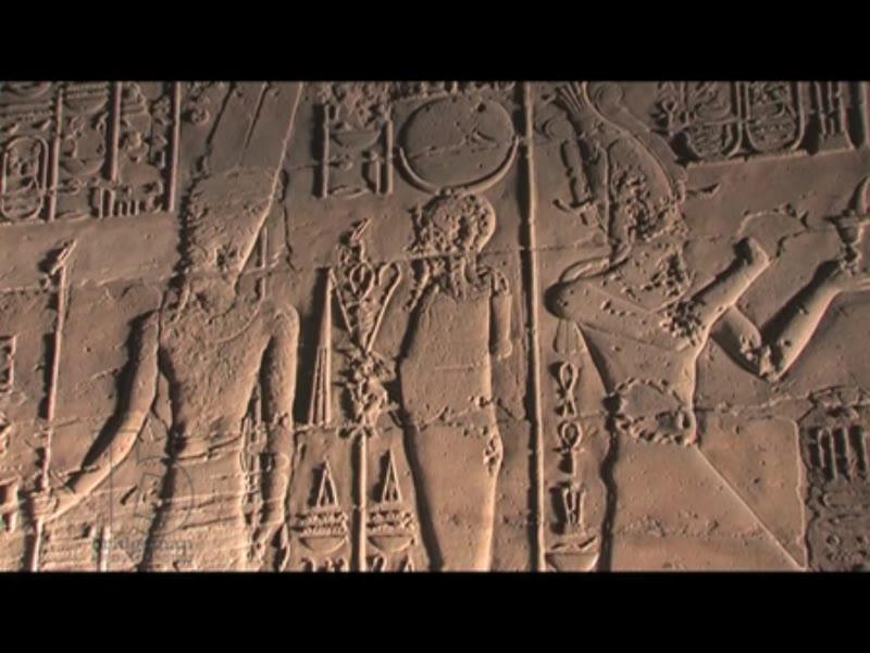 Hieroglyphics, Luxor, Egypt
