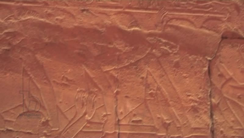 Wall carvings, Luxor Temple