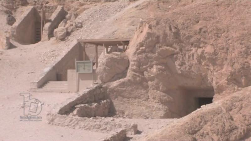 Tomb entrance, Karnak, Egypt