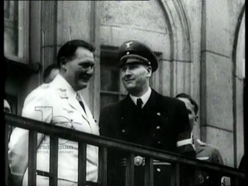 Hermann Göring at the Nuremberg Trials