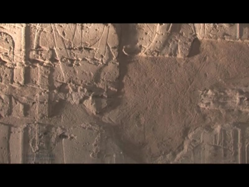 Ancient wall carvings and hieroglyphics, Luxor Temple