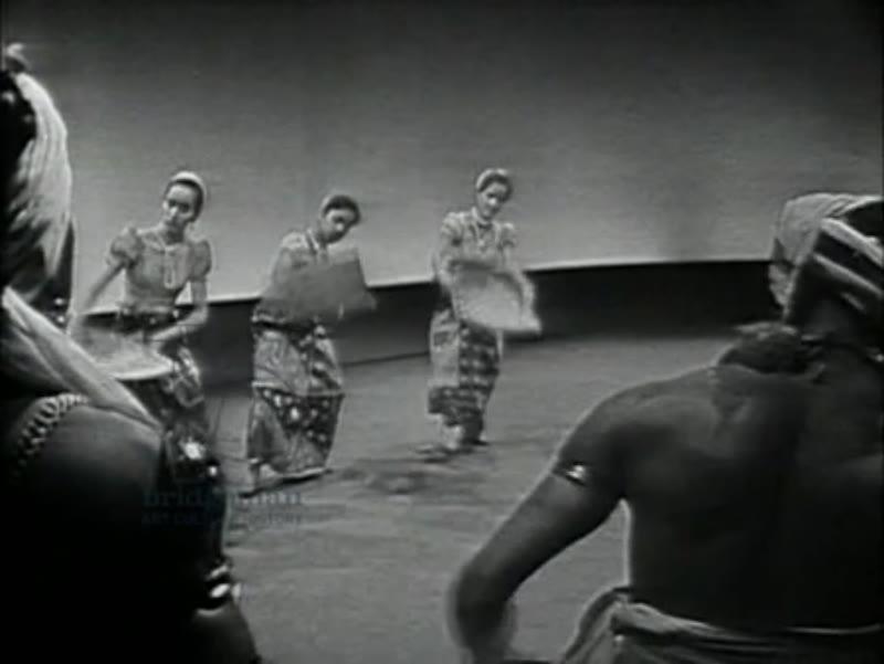 Dancing from Ceylon