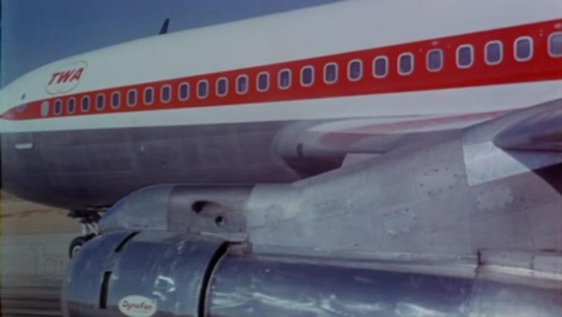707 takeoff, wing mounted camera