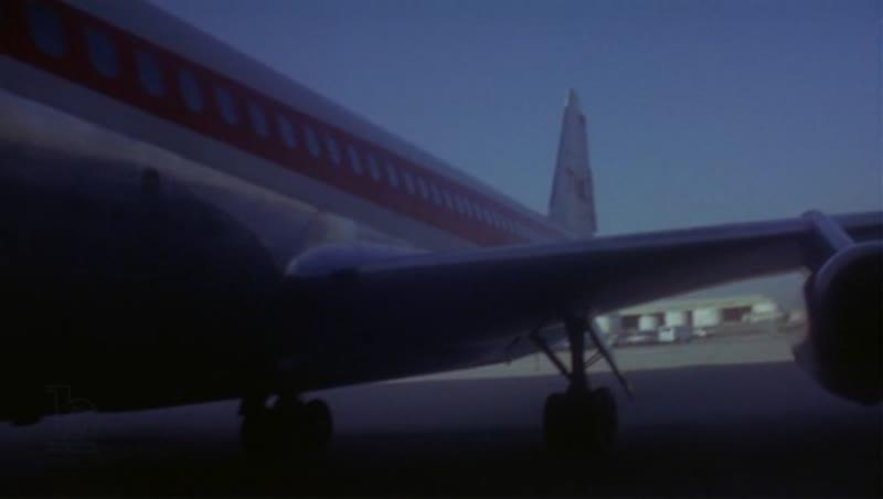 Boeing 707 hanger