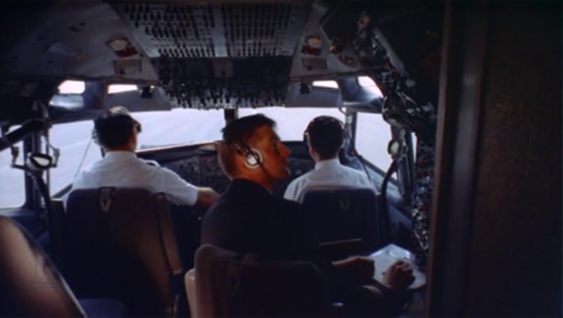 Cockpit-internal. takeoff