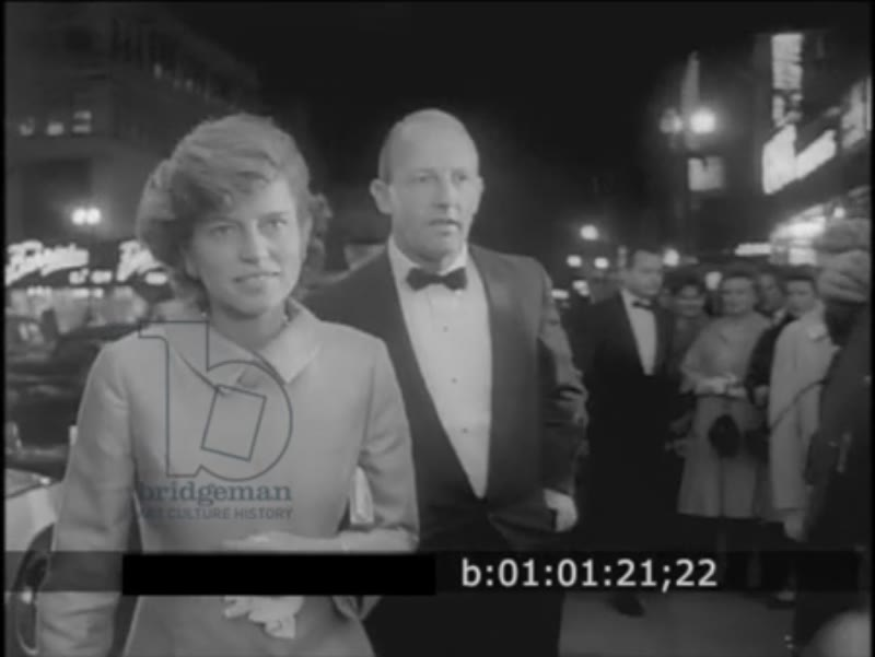 RESEARCH BOF Newsreel 1963 Preview Of Universal's New Film 'Charade'