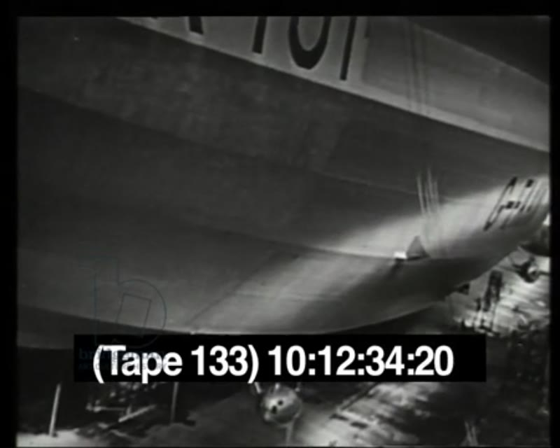 RESEARCH IMW tape 133 Airships R100 and R101