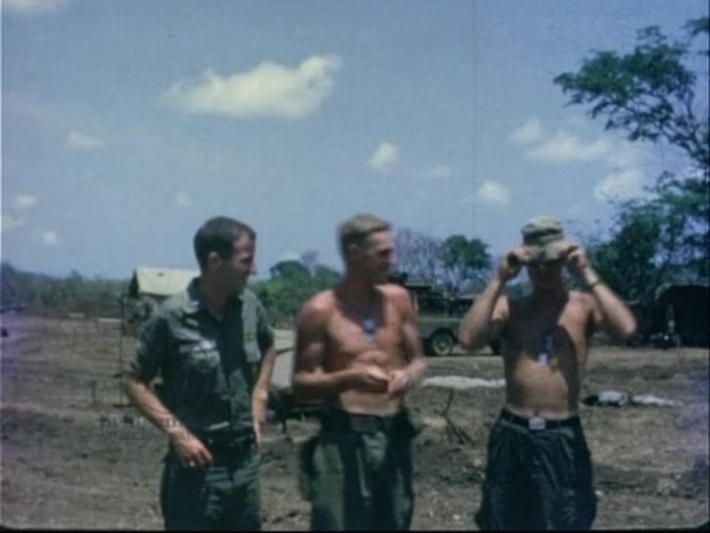 Vietnam war clip US soldiers