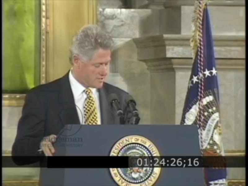 RESEARCH BOF President Bill Clinton - Affirmative Action Speech, 1995