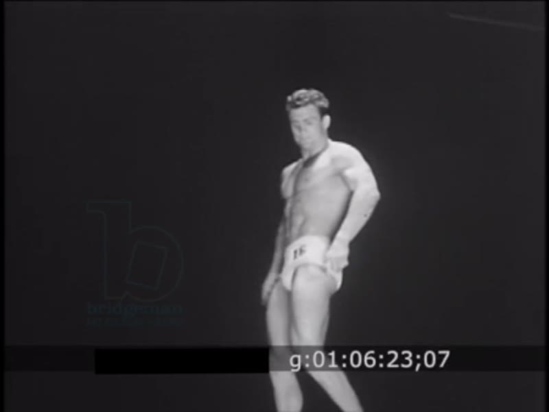 RESEARCH BOF Body Building Mr. America Contest Held In Los Angeles 1954