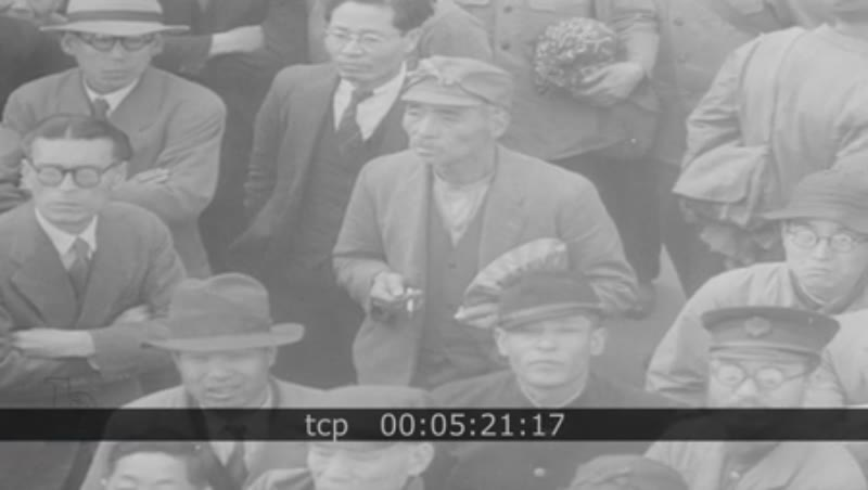 RESEARCH BOF pd dc 455 Japan 1940s. Including Scenes of the Japanese war trials