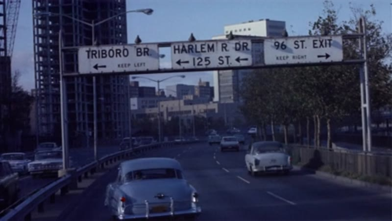 New York freeway; Harlem, 1950s/60s