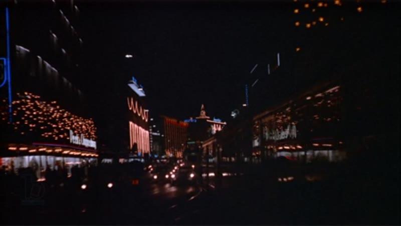 Mid-Shot of downtown Berlin, 1970s