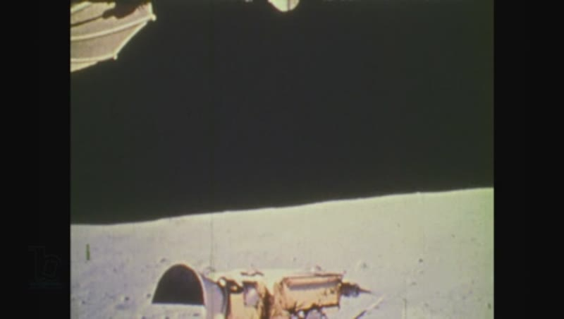 United States, 1970s: view from moon surface