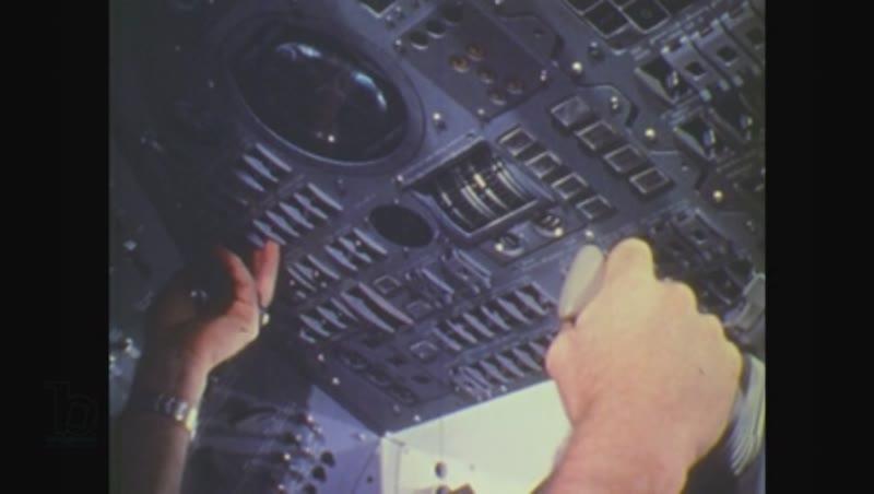 United States, 1970s: man speaks on phone