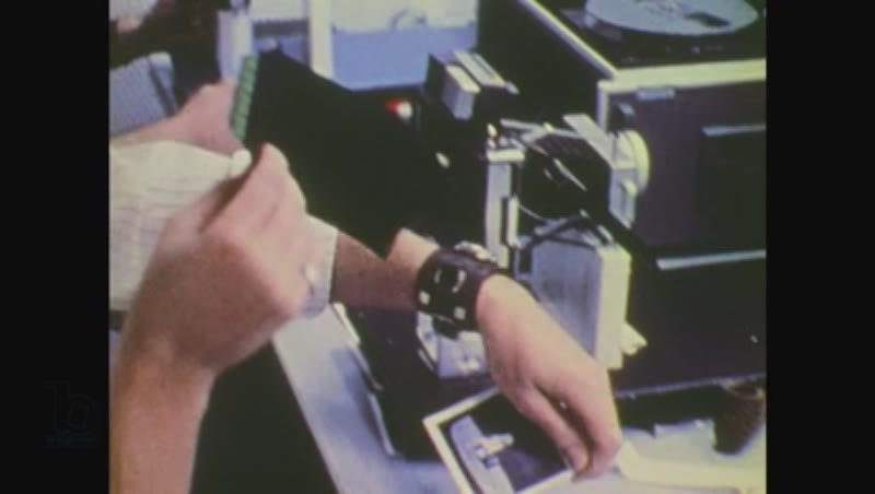 United States, 1970s: mission control scientists record data