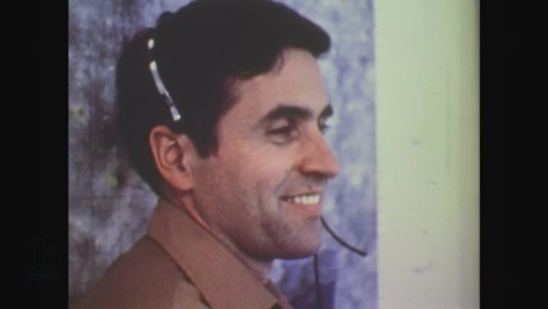 United States, 1970s: men at mission control speak