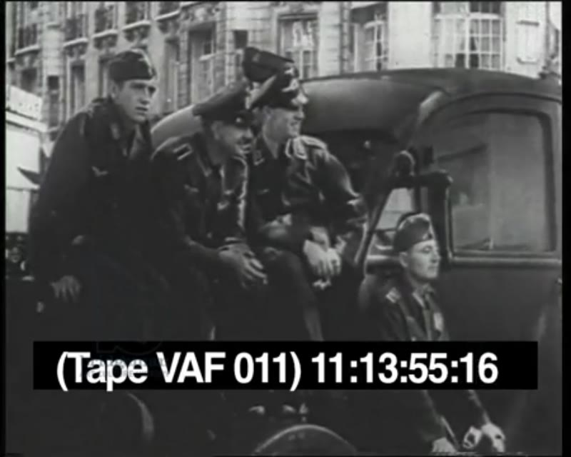Reinforcements from the Eastern Front arrive in France, 1942