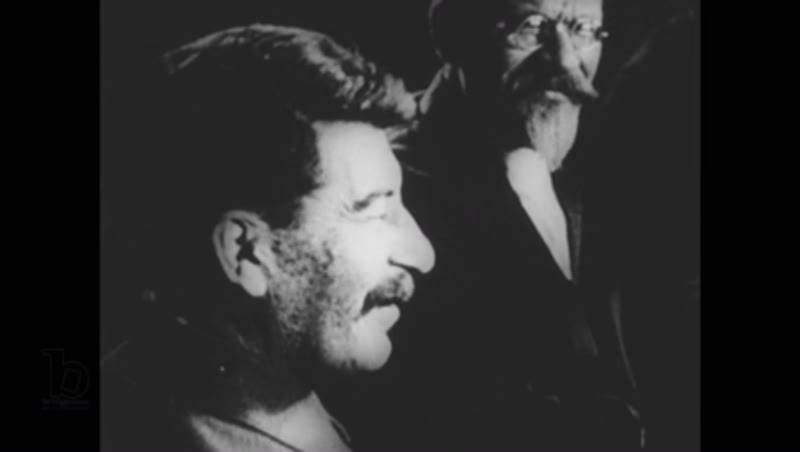 United States, 1950s: Joseph Stalin and Leon Trotsky