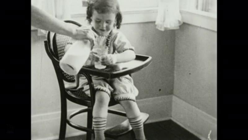 1930s: UNITED STATES: milk contains albumen and sugar.
