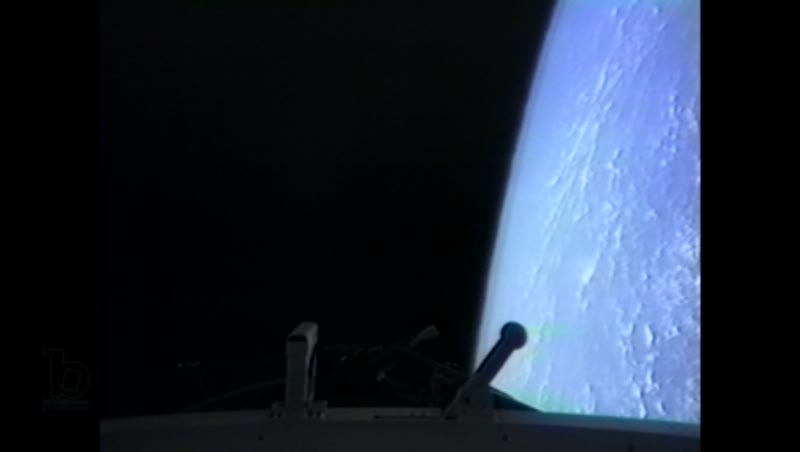 America, c.1990s: Oceanic earth crust from the perspective of space shuttle Endeavour