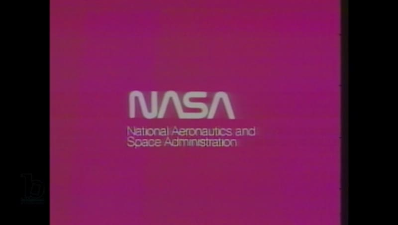 1980s: Nasa logo appears