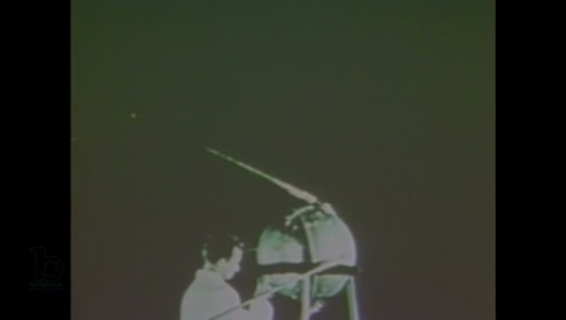 1980s: Light radiates from central source