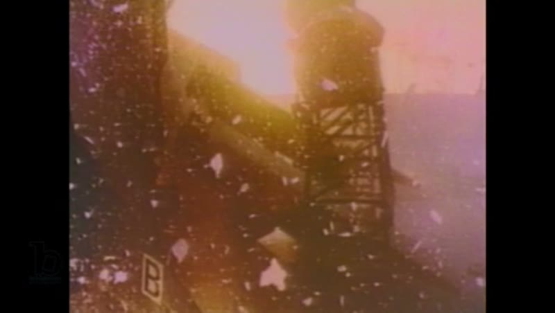 1980s: Rocket on launch pad