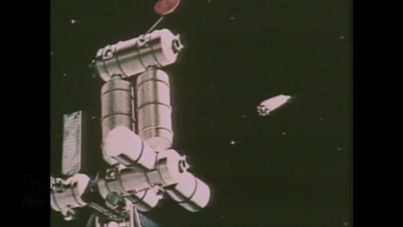 1980s: Illustrations of space station