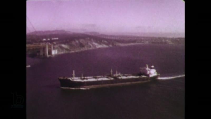 Port Pilot Escorts Tanker into San Francisco