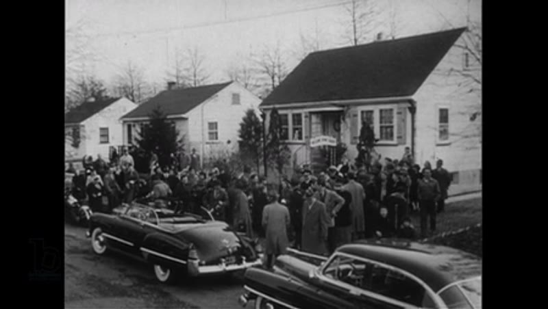 New Jersey, United States, 1952: Captain Carlsen is welcomed back in his neighborhood of Woodbridge, New Jersey