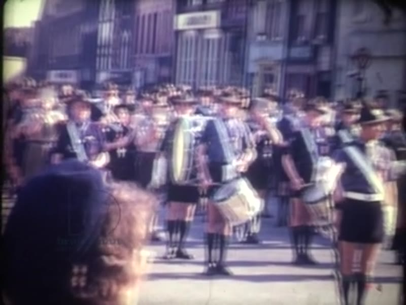 Sheffield St George's Day Parade, 1962