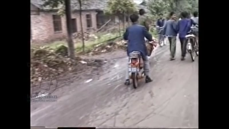 Small village Sichuan province China 1986