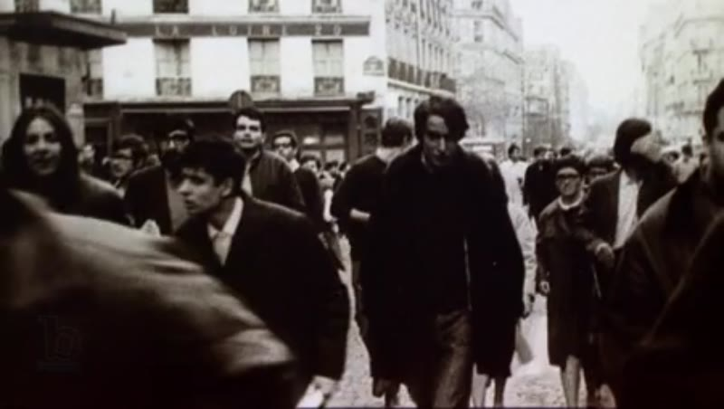 Protest parade in France, 1960s
