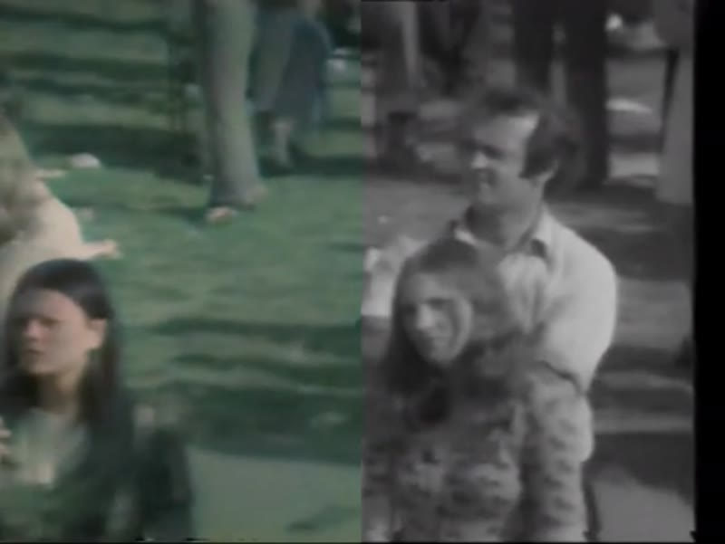E1 Festival 1974. Elvis Costello. Neural Love Process Example - Side By Side