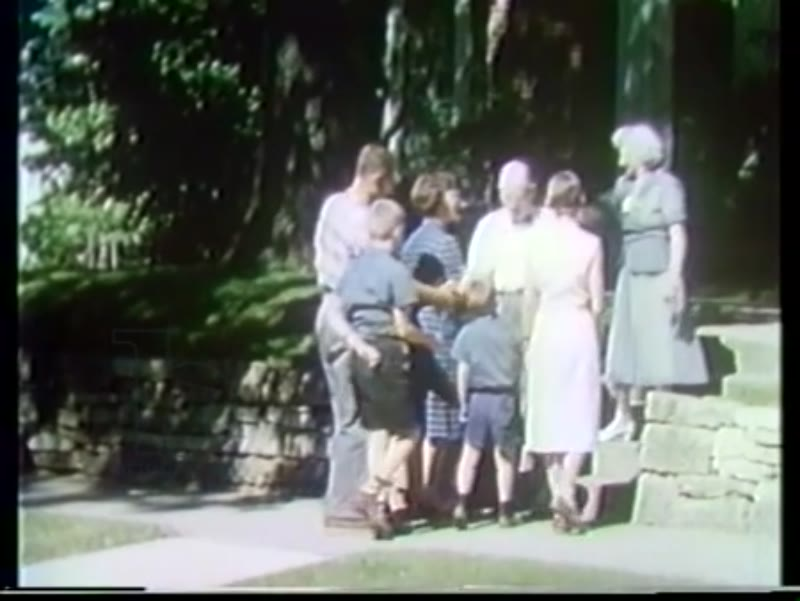 Family Camping through 48 States.  Part I, America's History, 1954-59